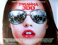 Cinema Poster: PIRANHA 3DD 2012 (Quad) Christopher Lloyd David Hasselhoff