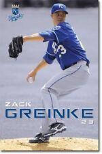 POSTER Kansas City Royals Zack Greinke 2010