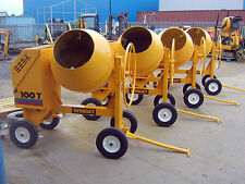 DIESEL CEMENT MIXER WINGET 100T REFURBISHED
