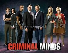 CRIMINAL MINDS tv show - Flexible Fridge Magnet
