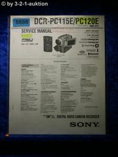 Sony Service Manual DCR PC115E / PC120E Level 1 Digital Video Camera (#5686)