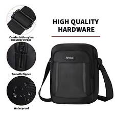 Messenger Bag Men Casual Shoulder Bag Waterproof Multi Pocket Crossbody Handbag