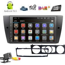 """9"""" Android 9.0 Car Head Unit Stereo Radio GPS No DVD For BMW E90 E91 E92 E93"""
