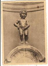 Belgique carte postale -  Bruxelles Manneken pis