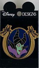 "HTF Old 2002 Official ""Pin Trading Pin"" VILLIAN MALEFICENT Mistress of the Dark"