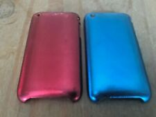 SET OF 2 PROTECTIVE PLASTIC BACK CASES / COVERS - APPLE iPHONE 3 3GS - GLITTER