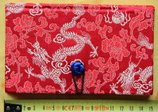 Cahier chinois-Journal Intime-Satin-Chinese Notebook-quaderno cinese-rouge-s