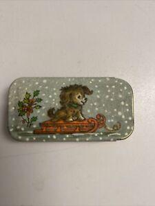 Vintage Potpourri Press Miniature Pill Tins Greensboro - Dog