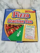 Learning Resources Pizza Fraction Fun Game - Educational Maths Fractions Game