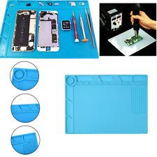 Heat Insulation Silicone Pad Mat Maintenance Platform Soldering Repair 35x25cm