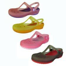 Crocs Womens Carlie Mary Jane Flat Shoes