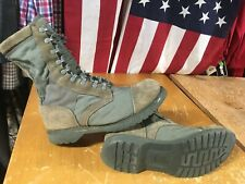 CORCORAN Marauder 87146 Sage Green Suede Combat military BOOTS Men 11D usaf USED