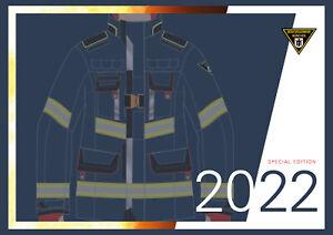 Kalender 2022 Berufsfeuerwehr München Feuerwehr neue PSA Bildkalender