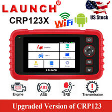 LAUNCH X431 CRP123X OBD2 Scanner Diagnostic Tool 4 System ABS SRS Engine AT WIFI