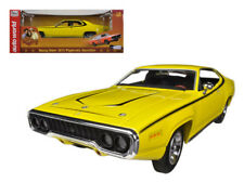 DUKES OF HAZZARD Daisy Dukes 1971 Plymouth Satellite 1:18 Scale AUTOWORLD