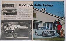 Article Articolo 1965 LANCIA FULVIA COUPE'