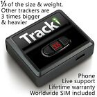 Tracki - GPS Tracker Mini Real time Hidden Dog Car Vehicles kids Tracking device <br/> Amazon #1 Best-Seller US &  World coverage iOS +Android