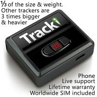 Tracki GPS Tracker Mini Real time Vehicles kids Spy Car Tracking device magnetic