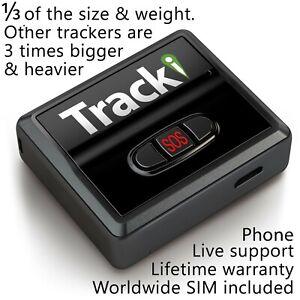 Tracki - GPS Tracker Mini Real time Hidden Dog Car Vehicles kids Tracking device