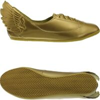 Adidas JS Wings Easy Five Gold Jeremy Scott Women's Flats shoes rare! Collectors