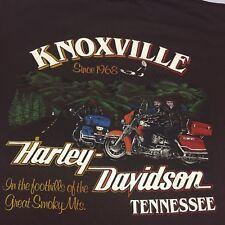 Vintage 1988 Harley Davidson Owners Group T-shirt Motorcycle Biker Soft XL Eagle