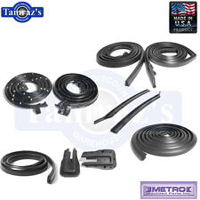 65-66 GM B Body Weatherstrip Seal Kit 2 Door Hardtop 10 Pieces Metro USA MADE
