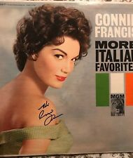 Connie Francis Autograph SIGNED LP JSA COA Album