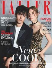 TATLER Magazine UK January 2018  Maya Hawke Jonah Hauer-King Rifat Ozbek Le Bon