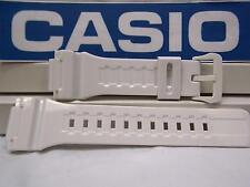 Casio Watch Band AQ-S810 White Rubber Strap for Tough Solar Illuminator