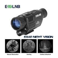 5X40 Monocular Night Vision Infrared Night-Vision Camera Monocular Telescope