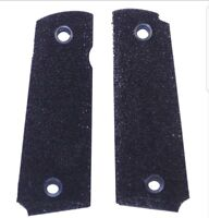 COLT 1911 GRIPS. BLACK SHARK SKIN GRAIN FOR BETTER GRIP  FITS FULL SIZE 1911