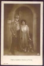 Actors Harry Liedtke & Elizza La Porta with Dog Aafa Ross Verlag 3596/1 ca.1930