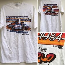 True Vintage Manzanita Mardi Gras Manzanita Speedway 1984 T-Shirt Sprint Car L