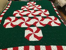 Handmade Afghan / Throw Blanket - Designer Collection - Christmas Tree