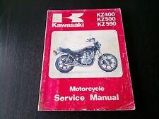 Kawasaki KZ 400 500 550 KZ400 KZ500 KZ550  79-81 Manual Reparaturanleitung