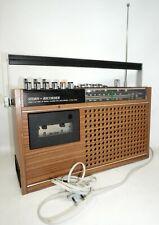 RFT Stern Recorder R160 Radio Kassetten Rekorder DDR FUNKTIONSTÜCHTIG /P2010/8
