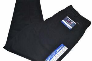 16615-a IZOD Dress Pants Black Size 40 x 32 Mens NEW TAGS