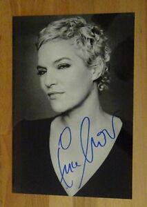 ORIGINAL Autogramm von Ina Müller. pers. gesammelt u. 100 % ECHT. GROSSFOTO