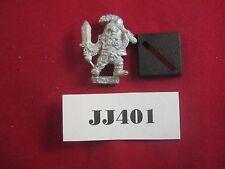 OOP Warhammer IC101 Iron Claw Gothic Dwarf Magnus 1987 Metal Ref JJ401