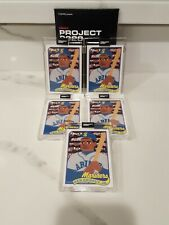 Topps 2020 Project 1989 Ken Griffey Jr. RC Keith Shore #88 5 Card Lot In Hand