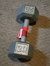 WEIDER 20 LB SINGLE DUMBBELL BRAND NEW