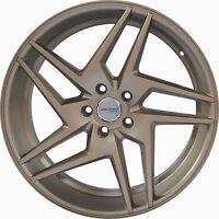 4 GWG Wheels 20 inch Bronze RAZOR Rims fits 5x115 PONTIAC AZTEK 2001 - 2005