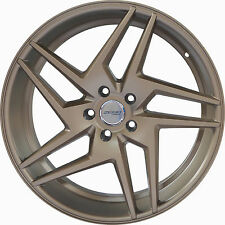 4 GWG Wheels 20 inch Bronze RAZOR Rims fits 5x114.3 FORD MUSTANG 2005 - 2014