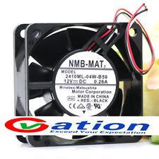 NMB 2410ML-04W-B59 60mm ball bearing fan 12v