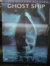 Ghost Ship (DVD, 2003, Full Frame) Lenticular Artwork, Disc Perfect