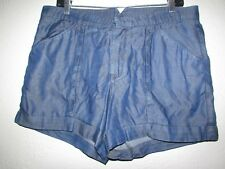 HELMUT LANG Women's Blue Short Side/Pockets Size: 30