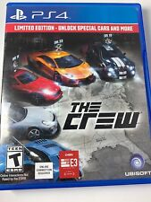 The Crew Sony PlayStation 4 Car Racing Video Game collectable NYSC USA PC Play P