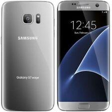 Samsung Galaxy S7 edge SM-G935A - 32GB - Silver Titanium (AT&T) Phone - Unlocked