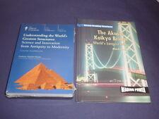 Teaching Co Great Courses DVDs  UNDERSTANDING WORLD'S GREATEST STRUCTURES +bonus
