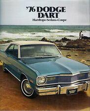 Dodge Dart 1976 USA MARKET sales brochure swigner édition spéciale Sport Berline
